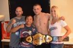 Team Honeycutt with the Belt!