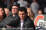 Mauro Ranallo and A 'Mean Muggin'Frank Shamrock having fun with us!