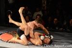 Vazquez drops a left