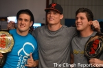 Former RFA Champions Row. (All current UFC Fighters)